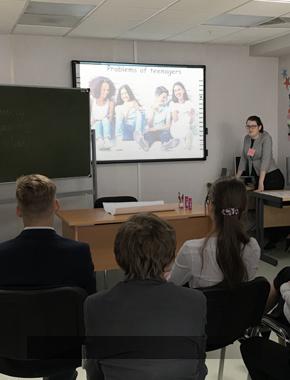 Профориентационный образовательный проект «Юный лингвист»