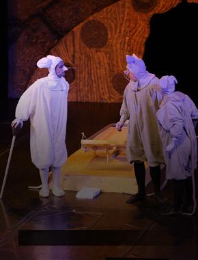 Студенты СурГУ на театральном фестивале