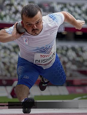 Поздравляем Дмитрия Душкина с высоким достижением на XVI Паралимпийских летних играх в Токио!